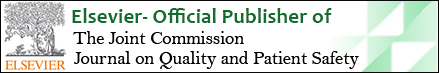 Elsevier Selected to Publish The Joint Commission Journal on Quality and Patient Safety