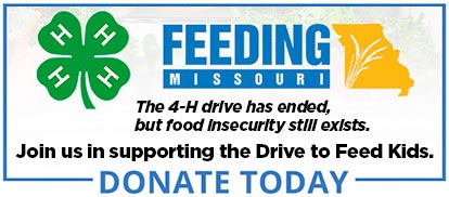 The 4-H drive has ended, but food insecurity still exists. Join us in supporting the Drive to Feed Kids. Donate today.