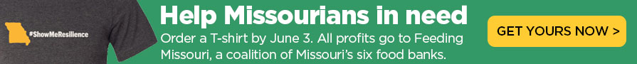 Help Missourians in need. Order a Show Me Resilience T-shirt by June 3. All profits go to Feeding Missouri, a coalition of Missouri's six food banks. Get yours now.